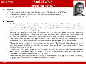 CV Paul Devaux