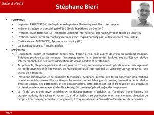 CV Stephane Bieri