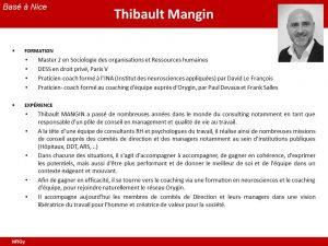 CV Thibault Mangin