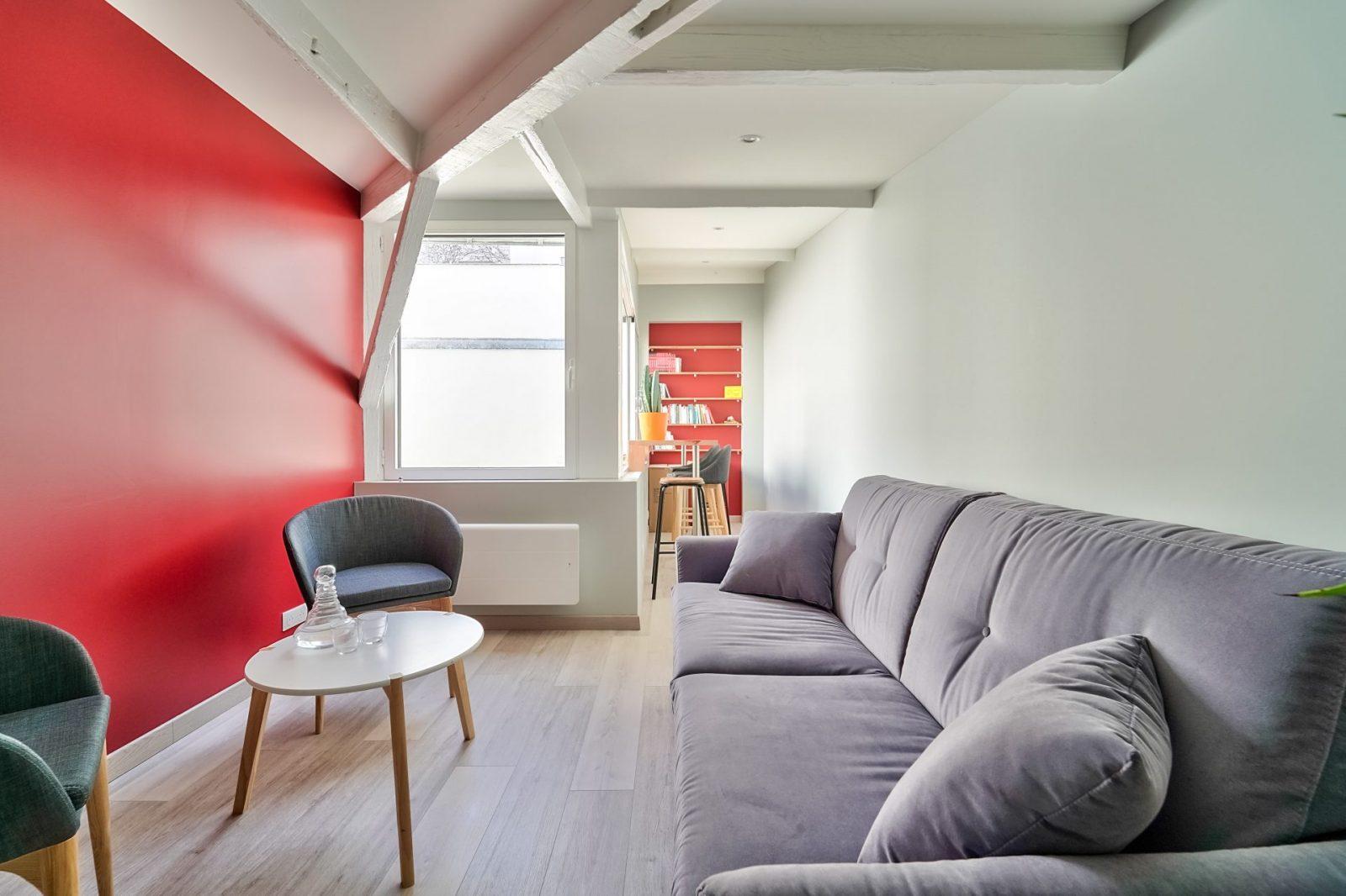 NRGy Training - Etage avec salon - Location de bureaux